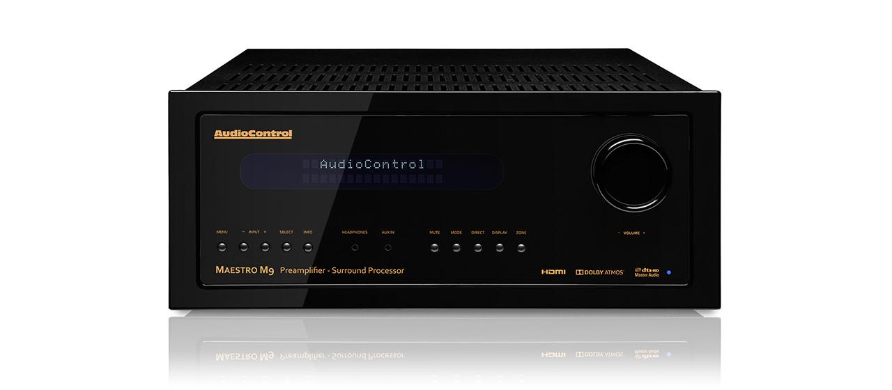 Kết quả hình ảnh cho AudioControl Maestro M9 Surround Processor Review