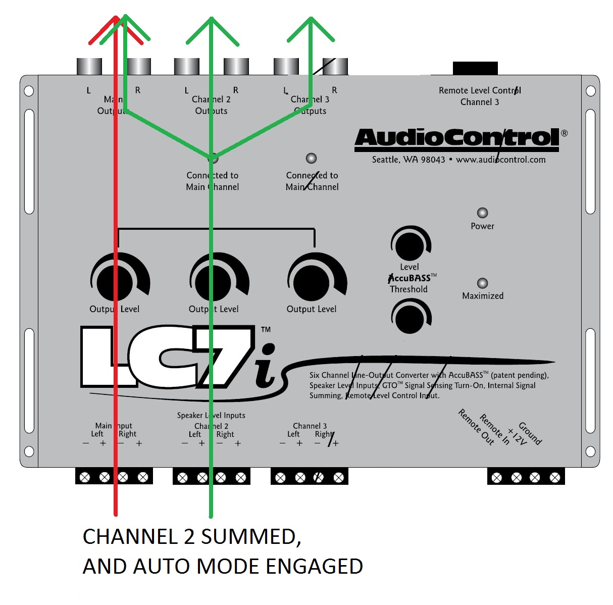 LC7I_automode_CH2SUMMED what does the summing function do? audiocontrol lci wiring diagram leveling system at virtualis.co