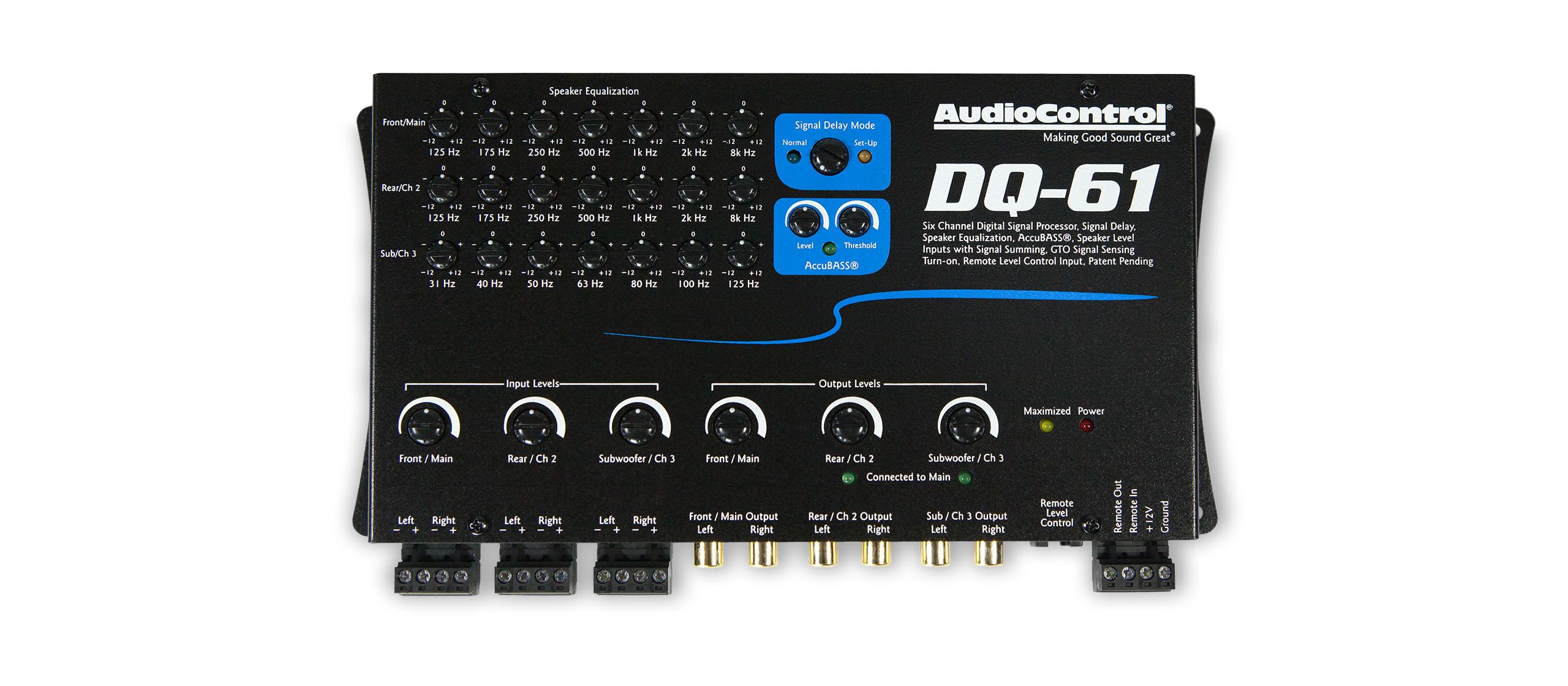 dq 61 audiocontrol. Black Bedroom Furniture Sets. Home Design Ideas