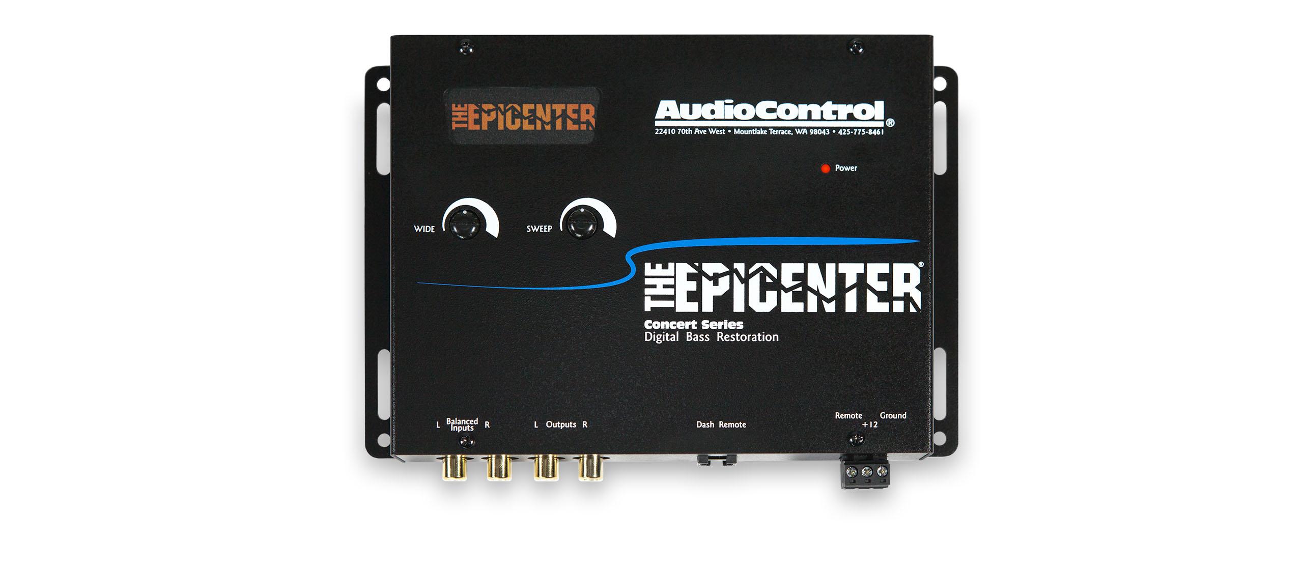 The Epicenter Audiocontrol Fuse Box Processor 1