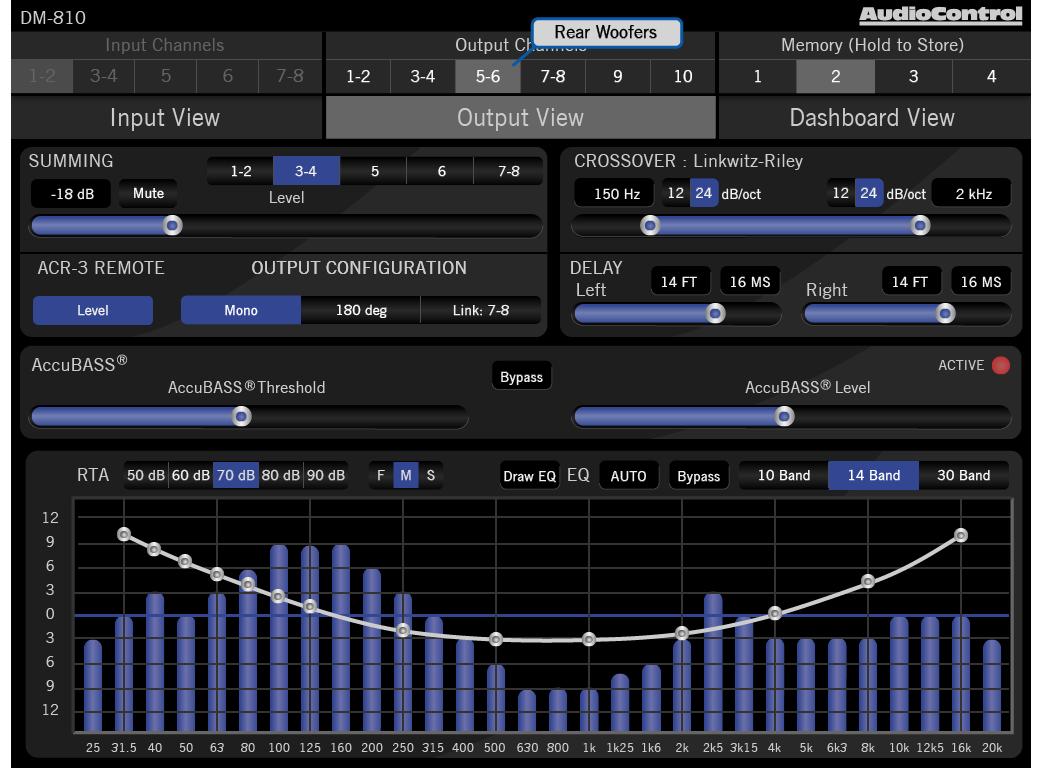 DM-810 | AudioControl