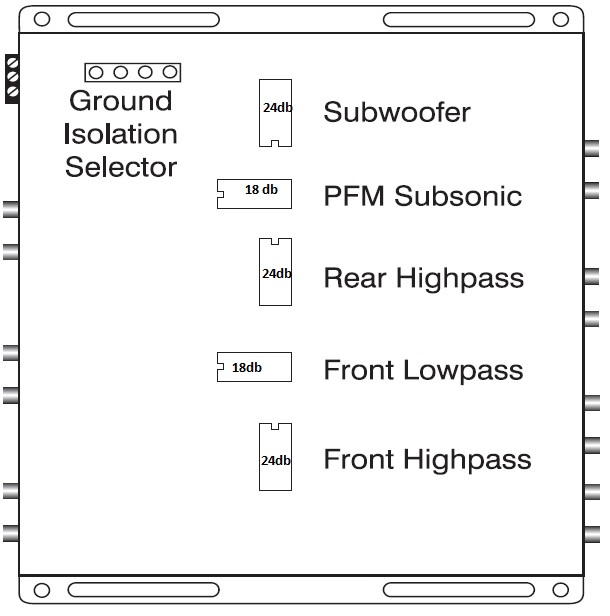 Do I need an 18 db crossover module, or a 24 db crossover