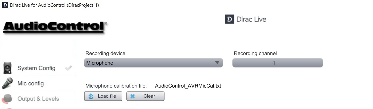 Dirac Setup Walk-Thru | AudioControl