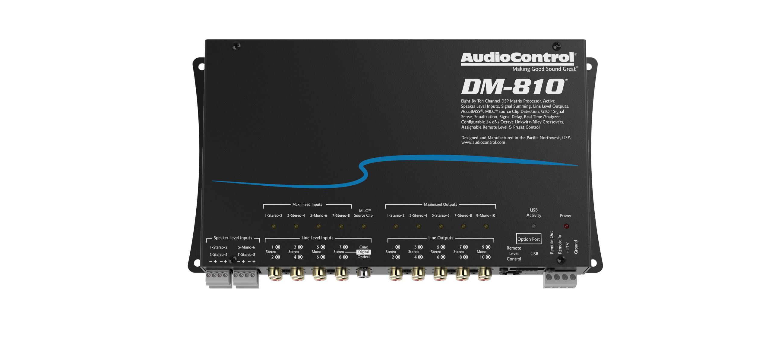 Dm 810 Audiocontrol