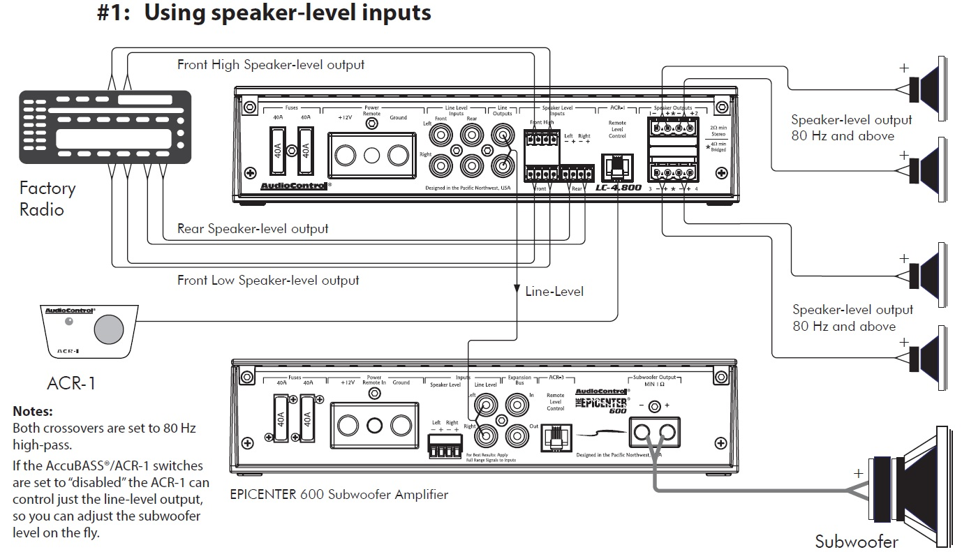 Car Application Diagrams Audiocontrol Audio Speaker Wiring Guide