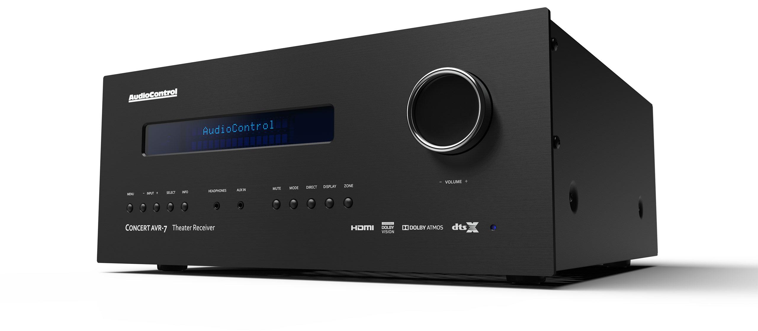 Concert AVR-7 | AudioControl